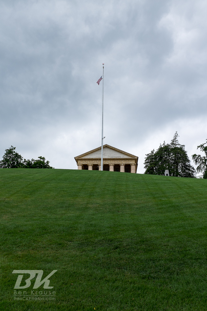 Arlington House in Arlington National Cemetery on June 9, 2013.  Photo by Ben Krause