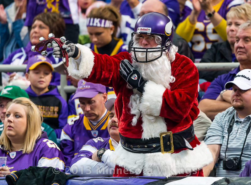 Minnesota Vikings vs. Philadelphia Eagles on December 15, 2013 at Mall of America Field in Minneapolis, Minnesota.  Photo by Ben Krause/Minnesota Vikings