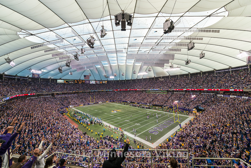 Minnesota Vikings vs. Detroit Lions on December 29, 2013 at Mall of America Field in Minneapolis, Minnesota.  Photo by Ben Krause/Minnesota Vikings