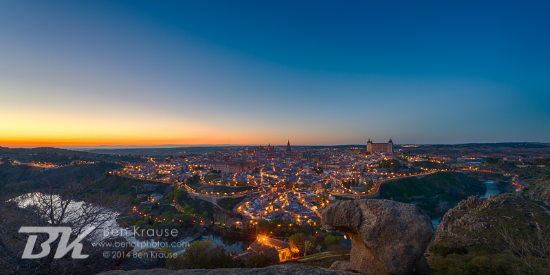 Toledo, Spain on March 16, 2014.  Photo by Ben Krause