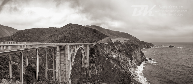 Big Sur, California on May 21, 2014.  Photo by Ben Krause