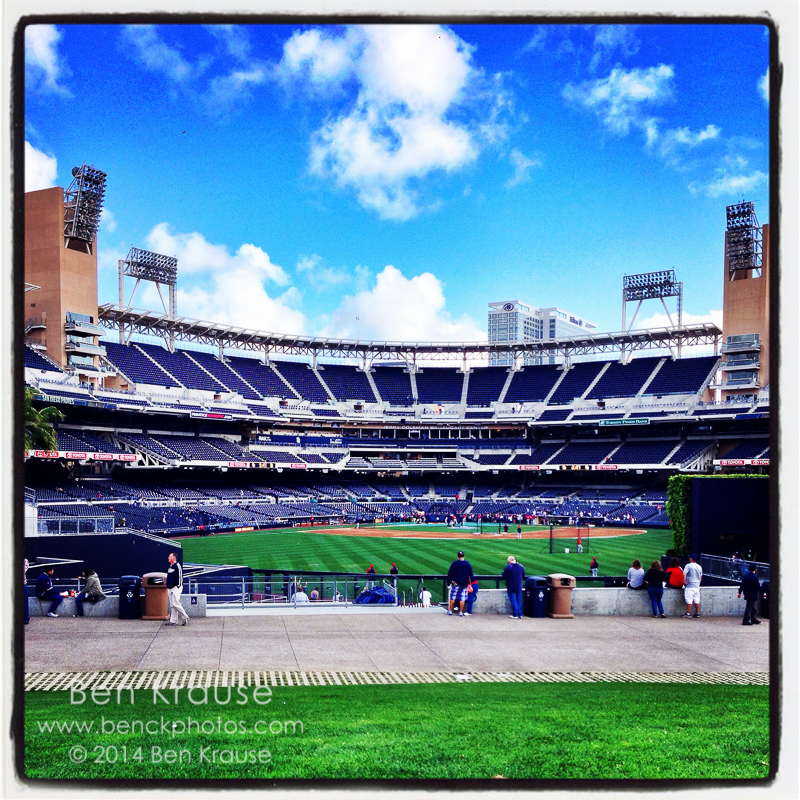 iPhone Instagram of Petco Park on May 21, 2014.  Photo by Ben Krause (@ben_c_krause)
