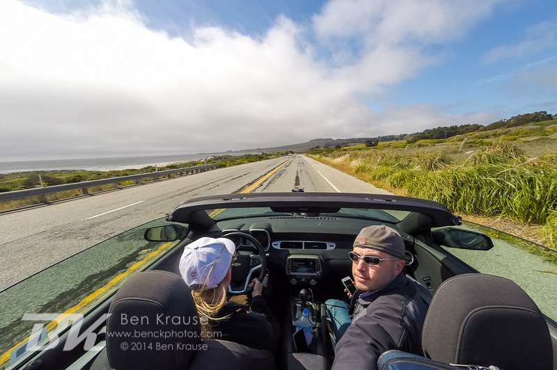 Pacific Coast Highway on May 23, 2014.  Photo by Ben Krause