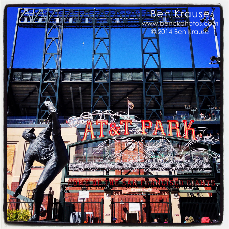 iPhone Instagram at AT&T Park on May 25, 2014.  Photo by Ben Krause (@ben_c_krause)